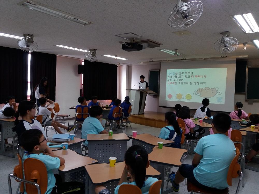 대학생 재능나눔 지원사업 공모 당선 동아리 프로그램 활동 내용